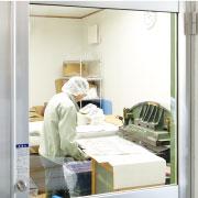 帯電防止・クリーンルームでな食品袋や衣料製品にも対応